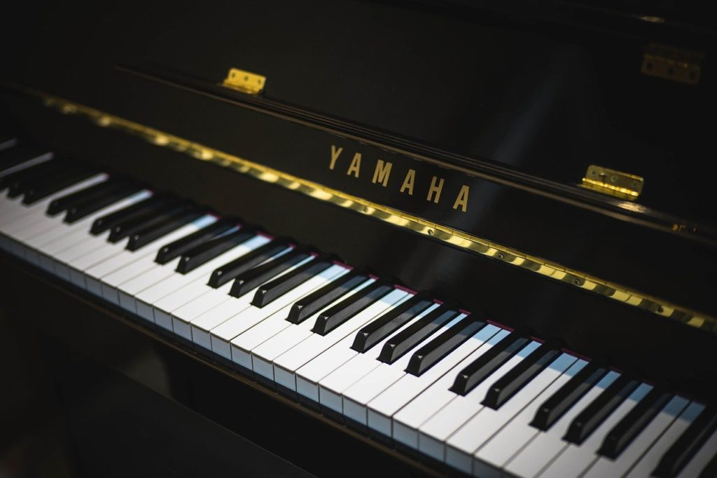 piano, yamaha, grand piano