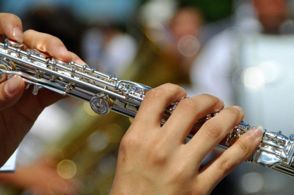 flute, instrument, music